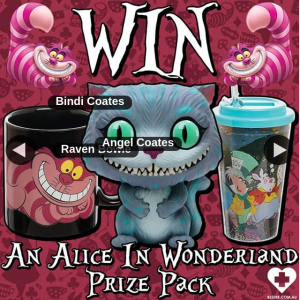Beserk – Win Alice In Wonderland Prize Pack