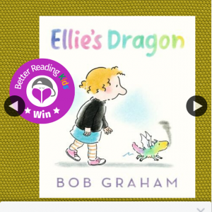 Better Reading Kids – Win a Copy of Ellie's Dragon Book