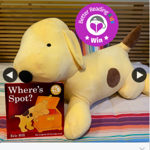 Better Reading Kids – Win a Spot Plush Toy & Copy of Where's Spot