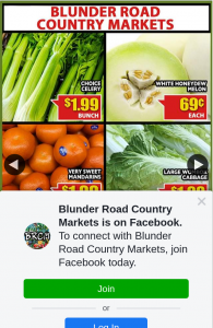 Blunder Road Country Markets – Win Our $100 In-Store Gift Voucher this Week (prize valued at $100)