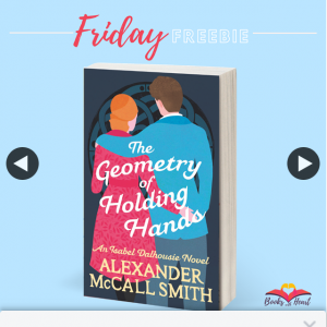 Books With Heart Book Club – Win 1 of 5 Copies of The Geometry of Holding Hands By Alexander Mccall Smith