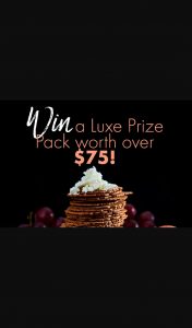 Bryon Bay Cookie – Purchase to – Win a Luxe Prize Pack Worth Over $75 (prize valued at $77.8)