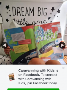 Caravanning with Kids – Win Travel Journal