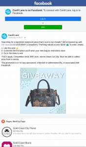 Cavill Lane – Win a Strawberry Thief Bag Must Collect In Centre (prize valued at $200)