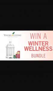 Channel 7 – Sunrise – Win a Young Living Winter Wellness Bundle (prize valued at $285)