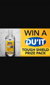 Channel 7 – Sunrise – Win One of Five Du'it Tough Shield Prize Packs to Keep You Safe this Flu Season
