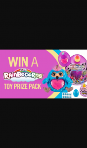 Channel 7 – Sunrise – Win One of Four Rainbocorns Prize Packs for Your Kids In this Week's Sunrise Family Newsletter