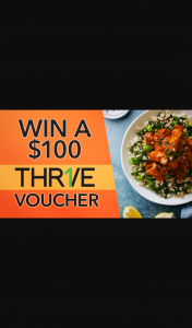 Channel 7 – Sunrise – Win $100 to Spend on Healthy