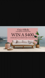 Channel 7 – Sunrise – Win $400 to Spend on Osier Belle Outdoor Furniture In this Week's Sunrise Family Newsletter