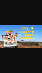 Channel 9 – Today Show – Ch 9 – a $2000 Bp Voucher
