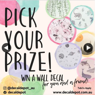 Decal Depot – Win a Free Wall Decal for You and a Friend