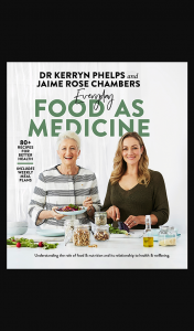 Female – Win One of 4 X Everyday Food As Medicine Valued at $45.00 Each (prize valued at $45)