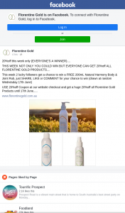 Florentine Gold – Win a Free 200ml Natural Harmony Body & Joint Rub