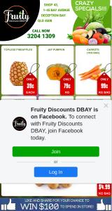 Fruity Discounts DBay – Win $100 Instore Spend