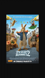 Girl-comau – Win One of 10 X In-Season Double Tickets to Peter Rabbit™ 2. (prize valued at $1)