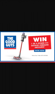 GWN7 – Channel 7 – Win 1 of 4 New Dyson V11 Outsize Cordless Vacuums (prize valued at $5,196)