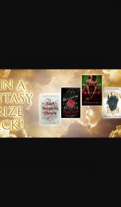 Hachette – Win a Fantasy Prize Pack