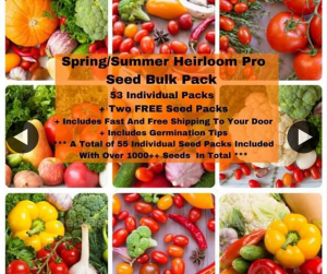 Hakin Plants and Seeds – Win 1x Spring/summer Heirloom Pro Pack (prize valued at $125)