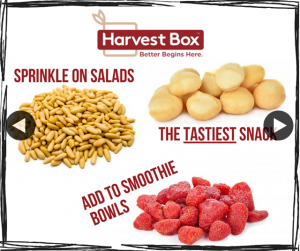 Harvest Box – Win an Assorted Box of Pantry Snacks