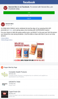 Harvest Box – Win this Pantry-Perfect Prize