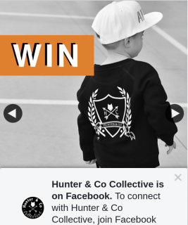 Hunter & Co Collective – Win a $200 Hunter and Co Voucher (prize valued at $200)