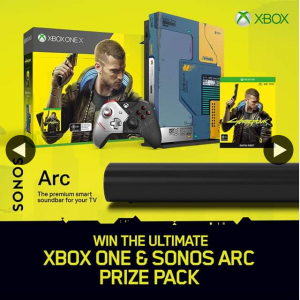 JB HiFi – Win an Ultimate Xbox One & Sonos Arc Prize Pack