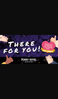 lafm TAS – Win Dinner Out for You and Your Best Friend at Penny Royal Restaurant and Wine Bar