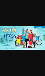 Lifestyle Loans – Win $7500 Cash (prize valued at $7,500)