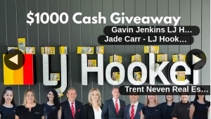 LJ Hooker Rockhampton – Win The Cash (prize valued at $1,000)