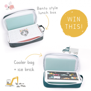 love mae – Win 1 of 2 lunch box and cooler bag sets