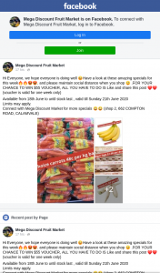 Mega Discount Fruit Market – Win $55 Voucher