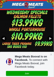 Mega Meats Booval – Win a $100 Meat Voucher