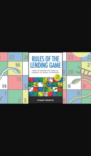 Money Magazine – Win One of Six Copies of Rules of The Lending Game