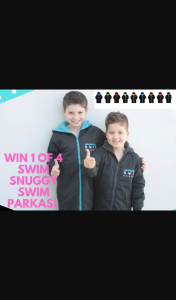 Mouths of Mums – Win 1 of 4 Funky Swim Snuggy Swim Parkas (prize valued at $320)