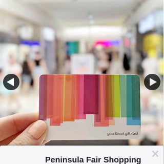 Peninsula Fair Shopping Centre – Win One of Two $25 Kmart Cards (prize valued at $50)