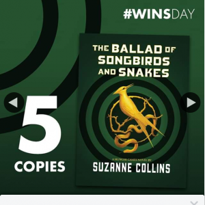 QBD Books – Win One of Five Copies of The Ballad of Songbirds and Snakes