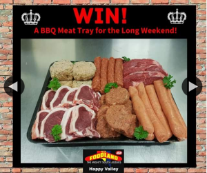Queen's Birthday Weekend BBQ Meat Tray Giveaway – Win Happy Valley Foodland