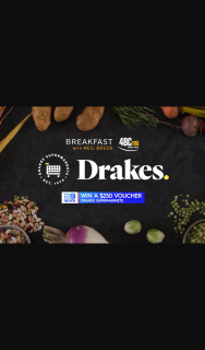 Radio 4BC Brisbane – Win a $250 Drakes Grocery Vouchers