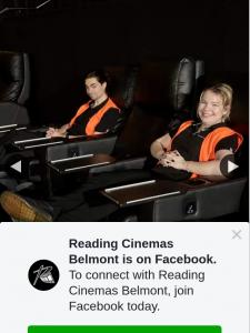 Reading Cinemas Belmont – Win a Double Pass