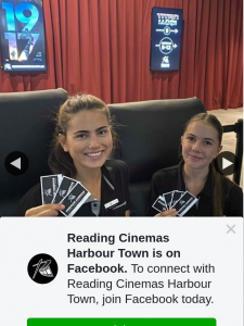 Reading Cinemas Harbour Town – Win a Double Pass