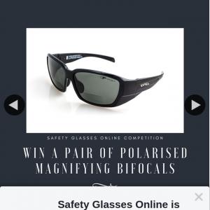 Safety Glasses Online – Win Eyres Define Magnifying Polarised Medium Impact Sunglasses