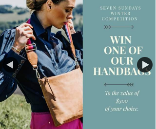 Seven Sundays – Win Handbag of Your Choice (prize valued at $300)
