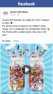 Smart Gift Ideas – Win One of Two Lolly Jars