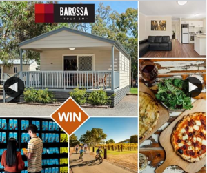 South Aussie With Cosi – Win a Family Weekend In The Barossa??