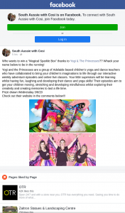 """South Aussie With Cosi – Win a """"magical Sparkle Box"""" Thanks to Yogi & The Princesses?"""