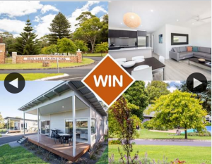 South Aussie with Cosi – Win a Night at Blue Lake Holiday Park?? (prize valued at $314)