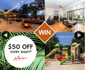 South Aussie With Cosi – Win a Night Away at Marion Holiday Park?