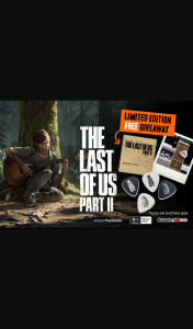 Stack Magazine – Win 1 of 150 a Super Limited Edition The Last of Us Part Ii Guitar Pick Packs