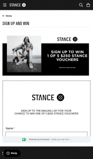 Stance socks – Win One of 5 $250 Stance Vouchers