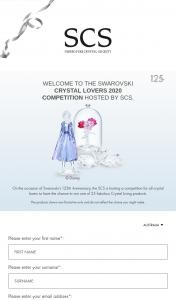 Swarovski Crystal Society – Win One of 25 Crystal Creations